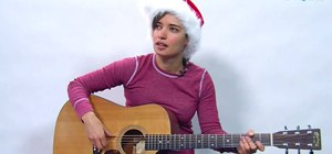 "Play ""Have Yourself a Merry Little Christmas"" on guitar"