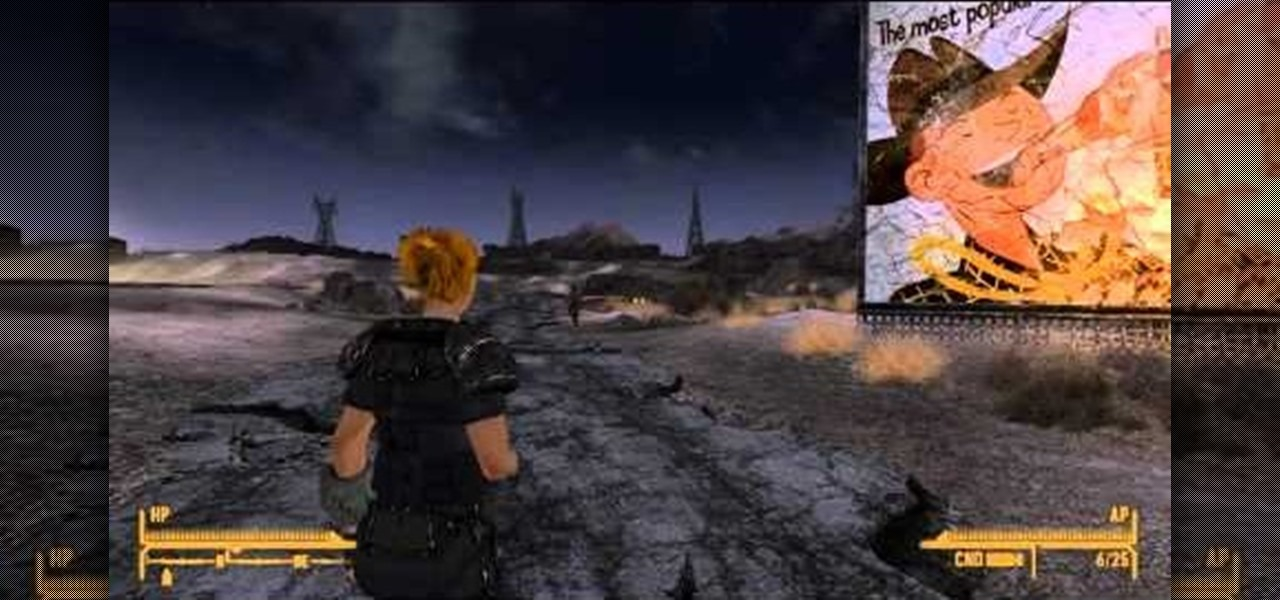 how to get unstuck fallout new vegas