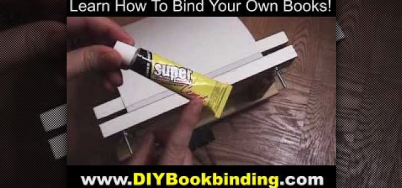 How To Make A Softcover Book : Best glue for diy book binding do it your self