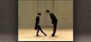 Dance March Steps, Bow, and Slow French Waltz
