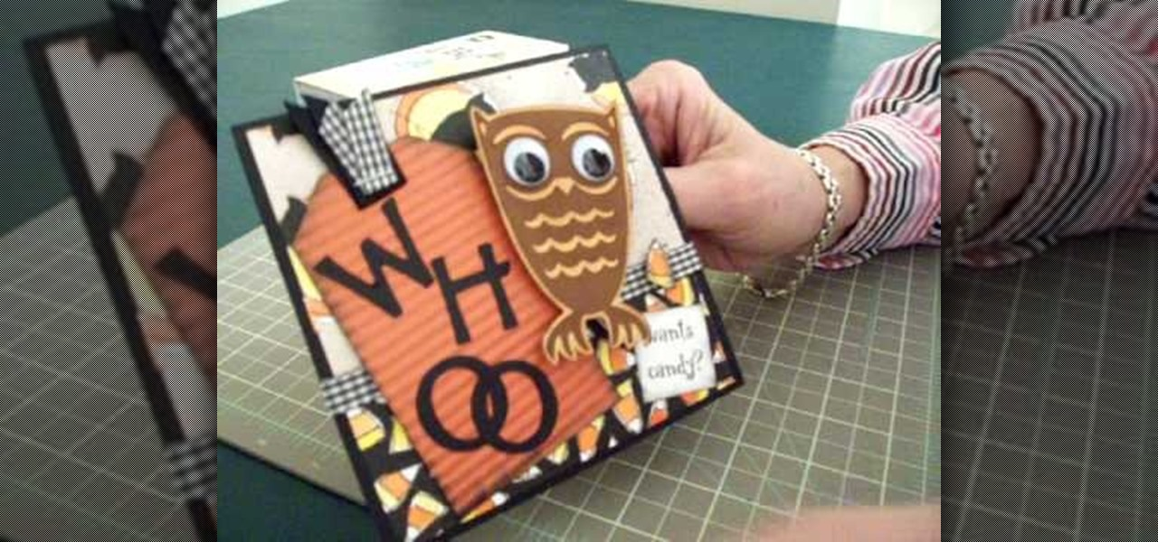 How to make an owl halloween card using cricut storybook Build storybook