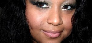 Create a MAC variation green warm eye makeup look