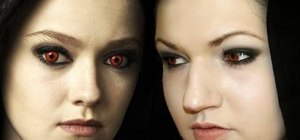 "Create Jane's Volturi makeup look from ""Twilight"""