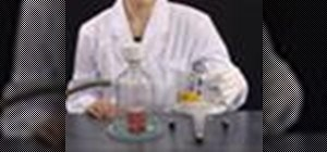 Do hot filtration & recrystallization in the chem lab