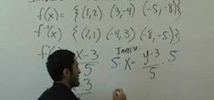 Solve problems with inverse functions