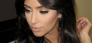 Create a glowing Kim Kardashian inspired look