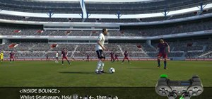 Perform feints in PES 2011 for the PS3