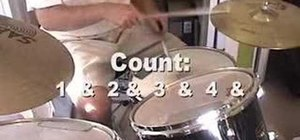 Play beginning drums