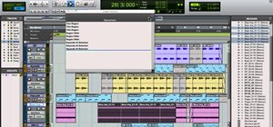 Undo an edit when mixing in Avid Pro Tools 9