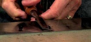 Properly sharpen a wood chisel