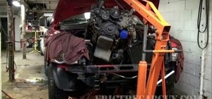 Swap out the 4.7L engine from a 2002 Dodge Ram truck