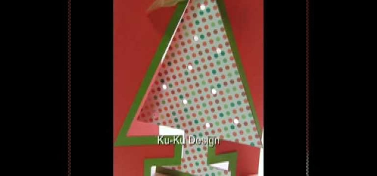 How To Craft A Modern 3D Christmas Tree Card « Papercraft
