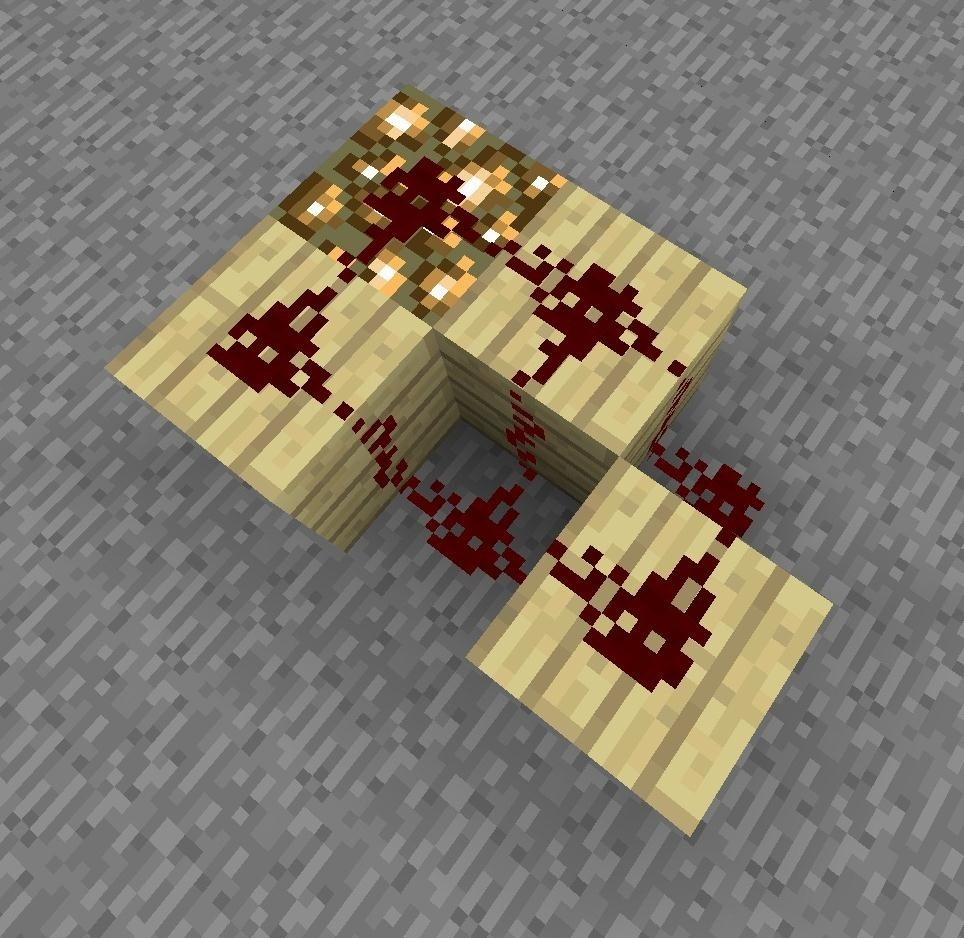 How to Make a 4 Input XOR-Gate in Minecraft