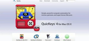 Save a webpage as a PDF with QuicKeys in Mac OS X
