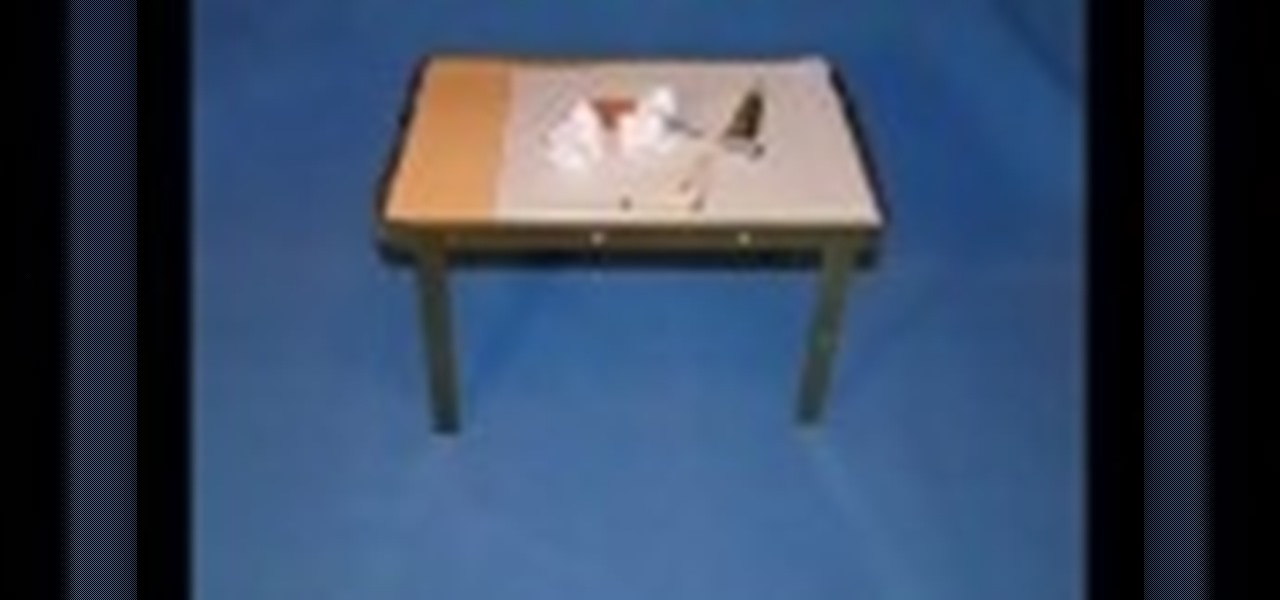 How to make a table with a secret compartment furniture for How to make a secret compartment in your wall