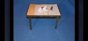 Make a table with a secret compartment