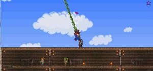 Craft an Ivy Whip in Terraria