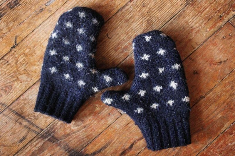 How to Repurpose Your Heinous Christmas Sweaters into Useful Winter Hats & Mittens
