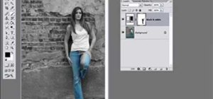 Selectively colorize an image in Photoshop