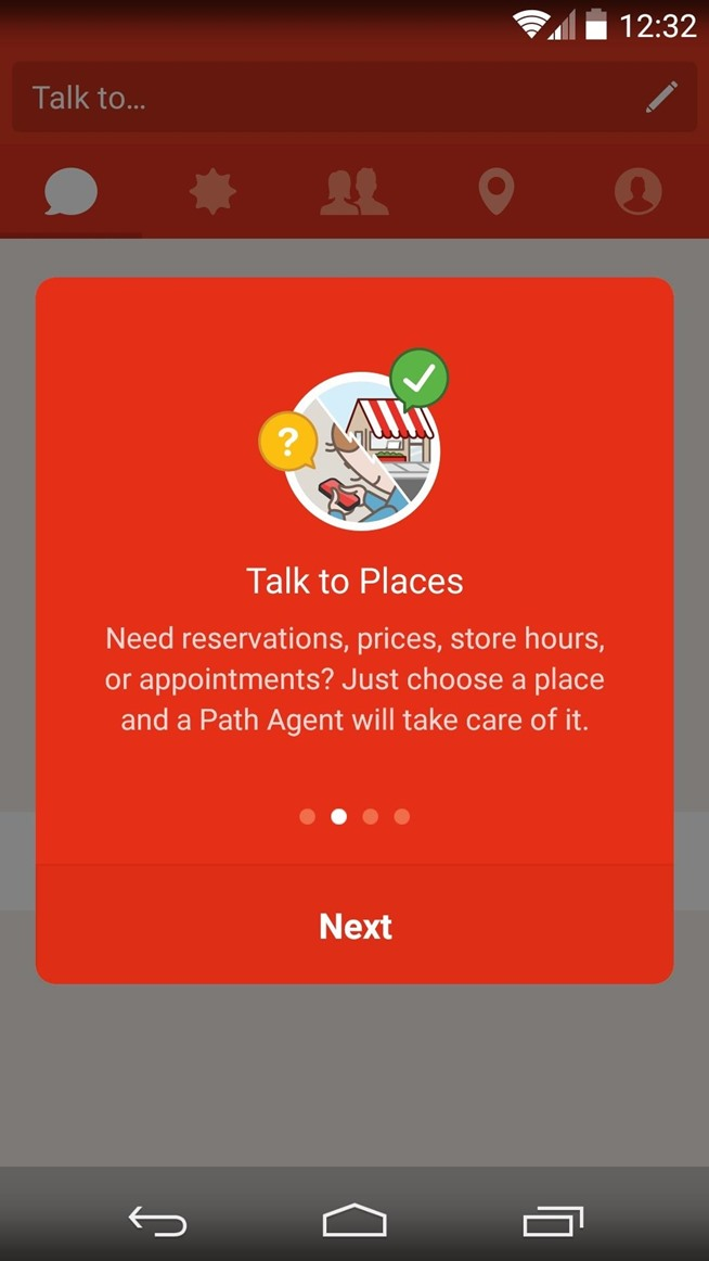 """Path Talk App Lets You """"Text"""" Businesses Instead of Calling Them"""