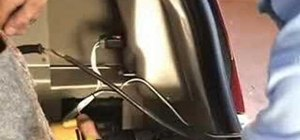 Install a trailer wiring harness in a Chrysler 300