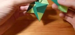 Origami a mennorode star
