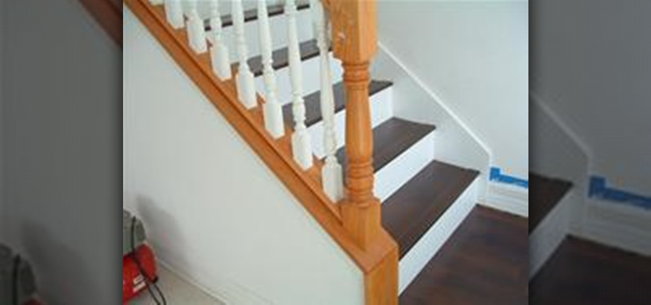 How To Install Laminate Flooring On Stairs Construction Repair WonderHowTo