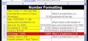 Use Excel percentage number format