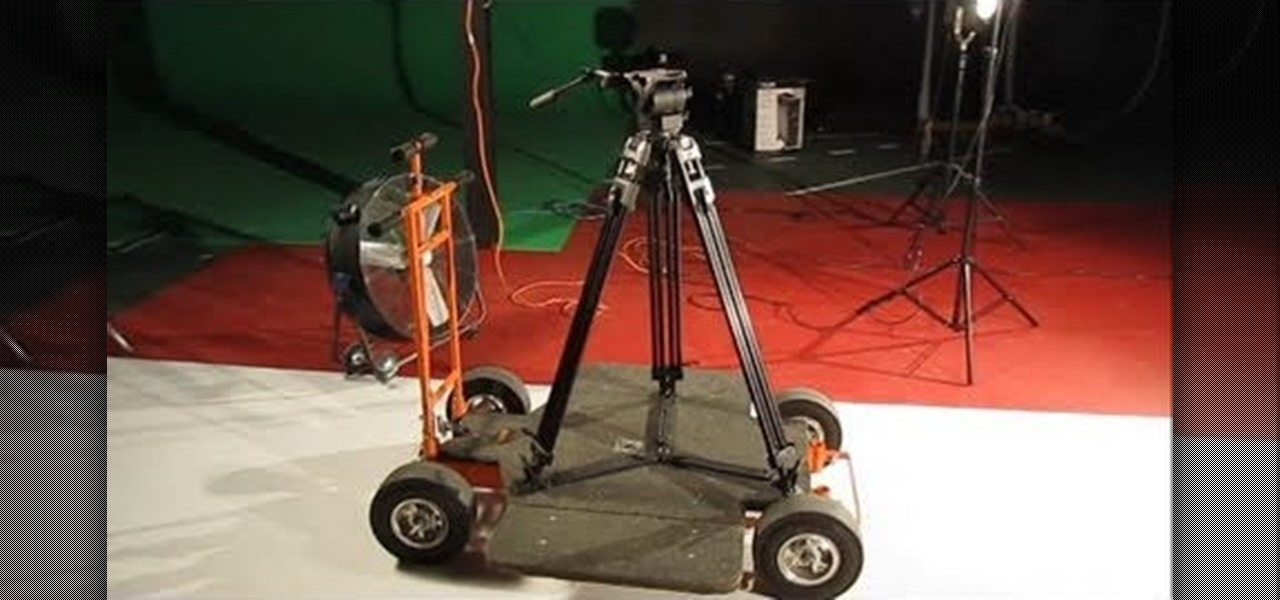 How To Make Your Own Rolling Camera Dolly For Cheap 171 Set