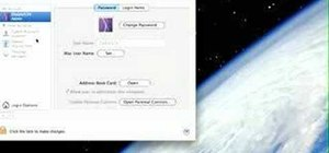 Startup configure a Mac
