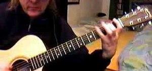 Play spanish flamenco style guitar