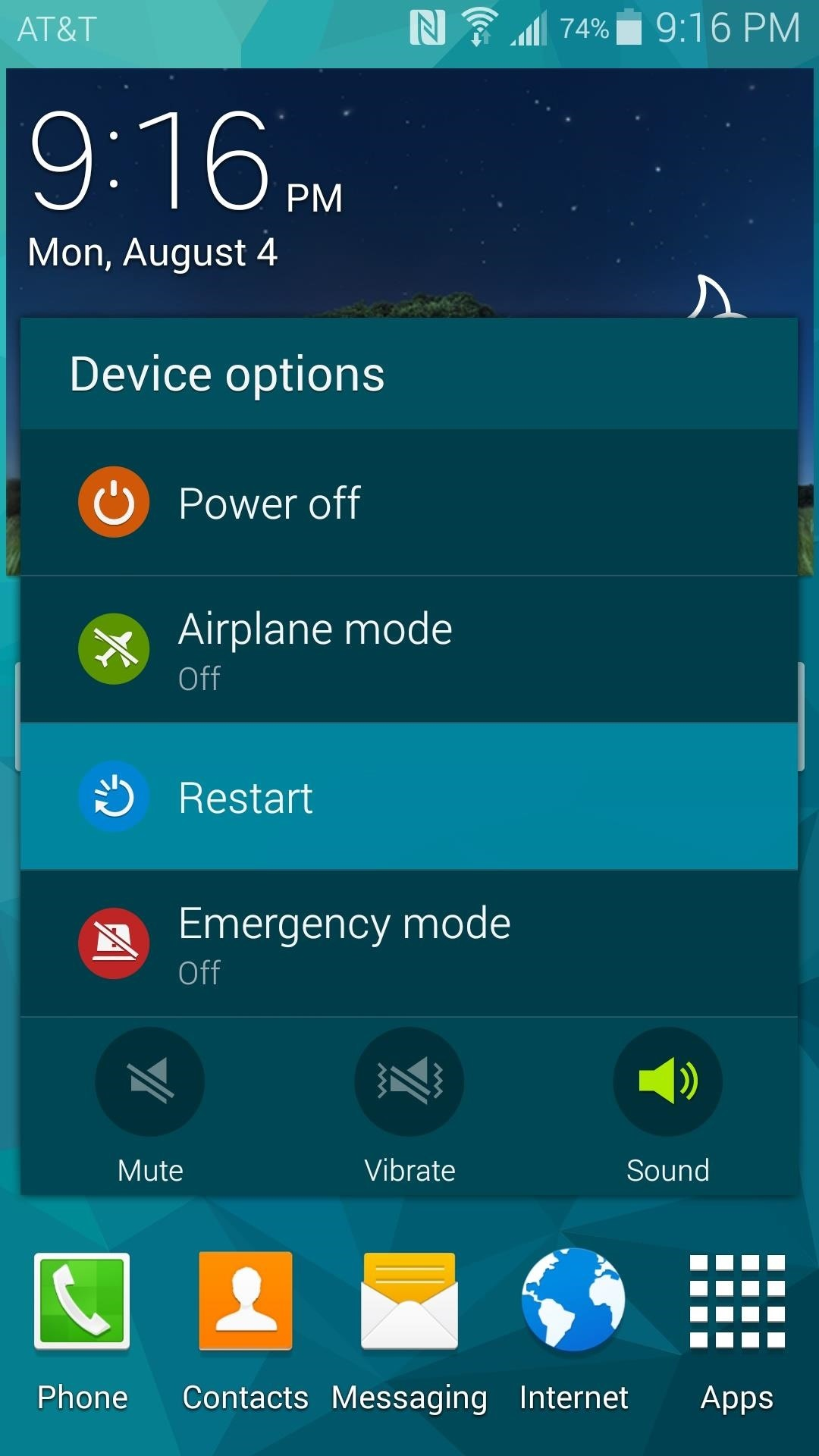 how to keep wifi on when galaxy s5 is locked