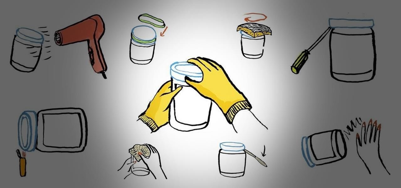 11 Easy DIY Techniques for Opening a Super-Tight Jar