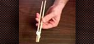Make chopsticks for kids to use