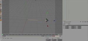 Create a simple whip animation in MAXON Cinema 4D