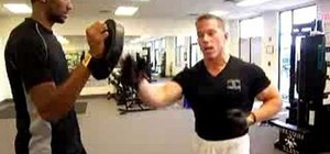 Burn belly fat using boxing exercises
