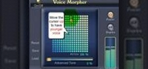 Use voice morpher in AV Voice Changer