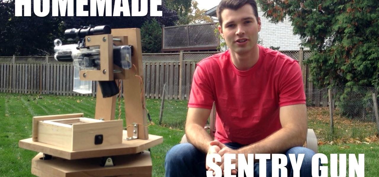 Make a Airsoft Sentry Gun