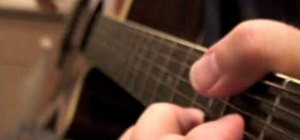 """Play """"Old Man"""" by Neil Young on acoustic guitar"""