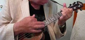 "Play ""Summertime"" by George Gershwin on the ukulele"