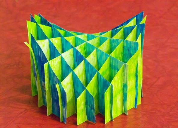 how to make a hyperbolic paraboloid