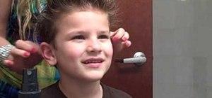 Fix punky spiked hair like Twilight
