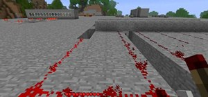 Use redstone to make a moving bridge in Minecraft