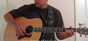 """Play """"Hero"""" by Enrique Iglesias on acoustic guitar"""
