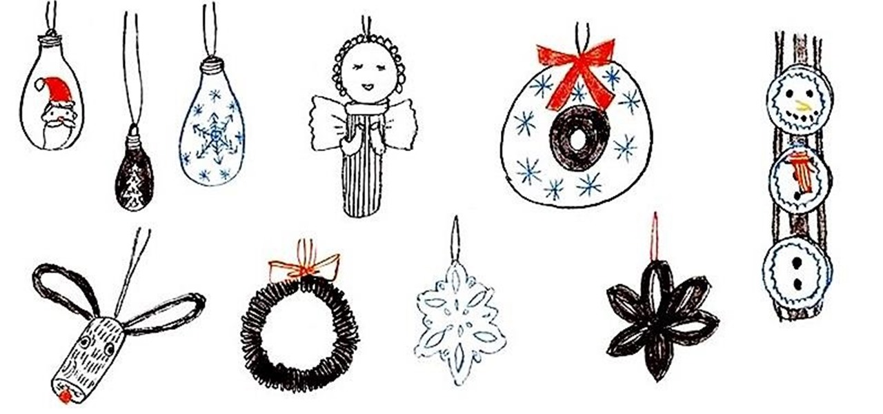 12 Diy Christmas Tree Ornaments You Can Make From Things Around