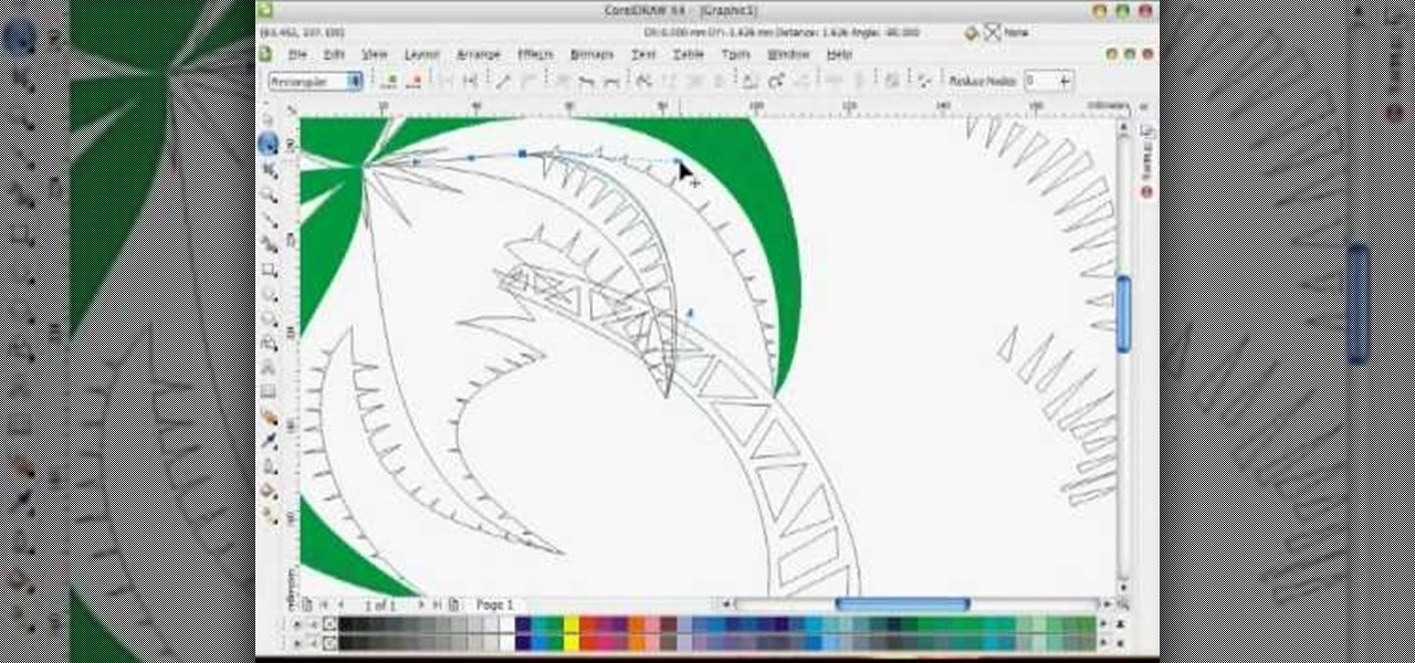 How to Draw a vector art palm tree in CorelDRAW X4 « Software Tips :: WonderHowTo