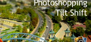 Fake a tilt shift miniature look in Photoshop