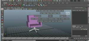 Use the Hotbox navigation tool in Autodesk Maya 2011