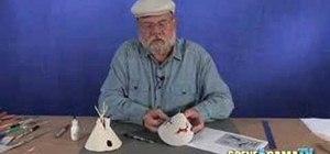 Build a tepee diorama