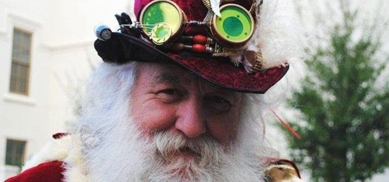 A Small Survey of a Selection of Steampunk Santas